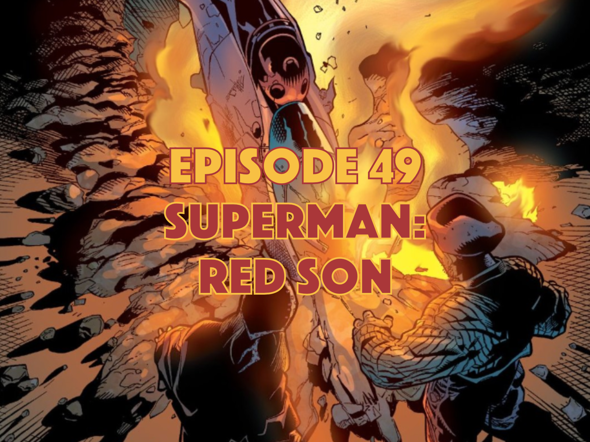 Superman Red Son Graphic Novel Podcast