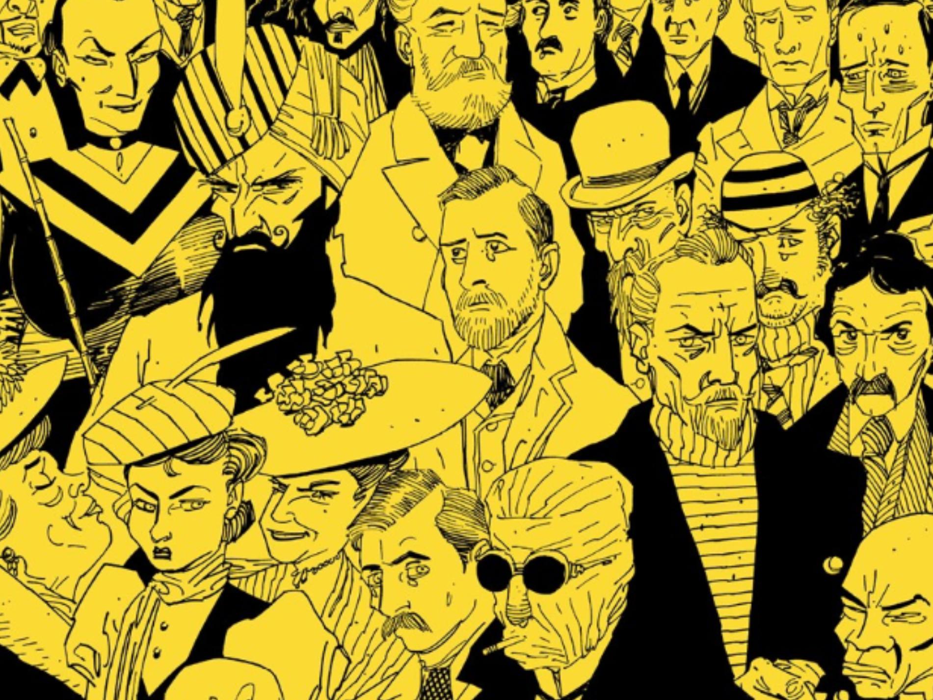 The League of Extraordinary Gentlemen, Graphic Novel Explorers Club, Comic Book Podcast, Graphic Novel Podcast