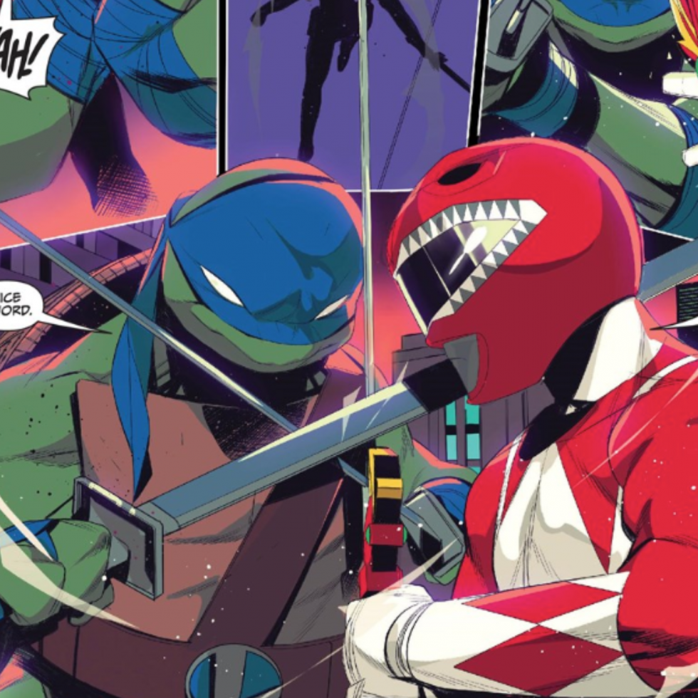 Mighty Morphin Power Rangers, Teenage Mutant Ninja Turtles, Graphic Novel Explorers Club, Comic Book Podcast, Graphic Novel Podcast